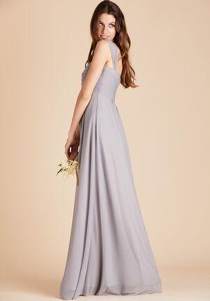 Birdy Grey Maria Convertible Dress in Silver Sweetheart Bridesmaid Dress