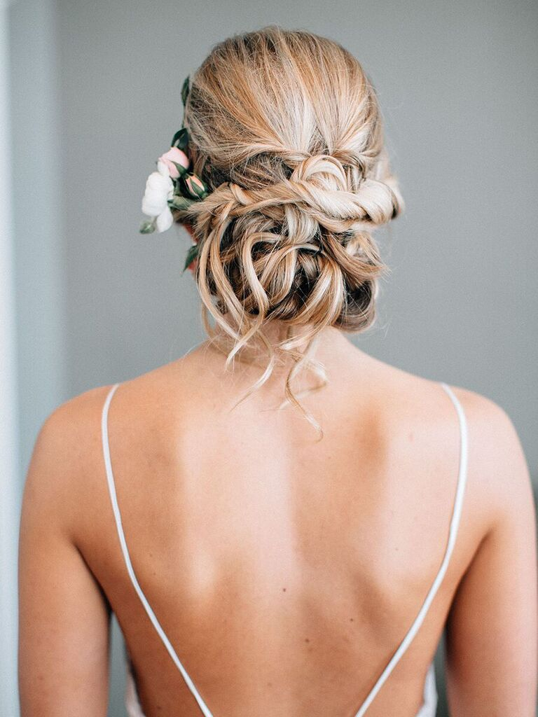 Wedding Hairstyles Undone Bun