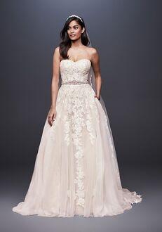 David's Bridal David's Bridal Style WG3861 Ball Gown Wedding Dress