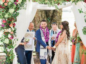 Jewish and Hindu Wedding Ceremony
