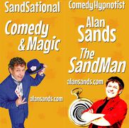 San Mateo, CA Hypnotist | SF, CA Comedy Hypnosis & Magic The SandMan
