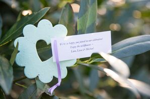 Wildflower Seed-Packet Guest Favors