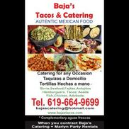 Chula Vista, CA Caterer | Bajas Tacos & Catering Mexican Food