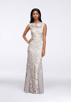 David's Bridal Mother of the Bride 117152 Silver Mother Of The Bride Dress
