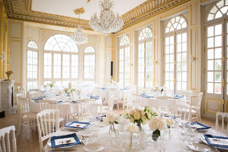 Romantic Château Ballroom Reception