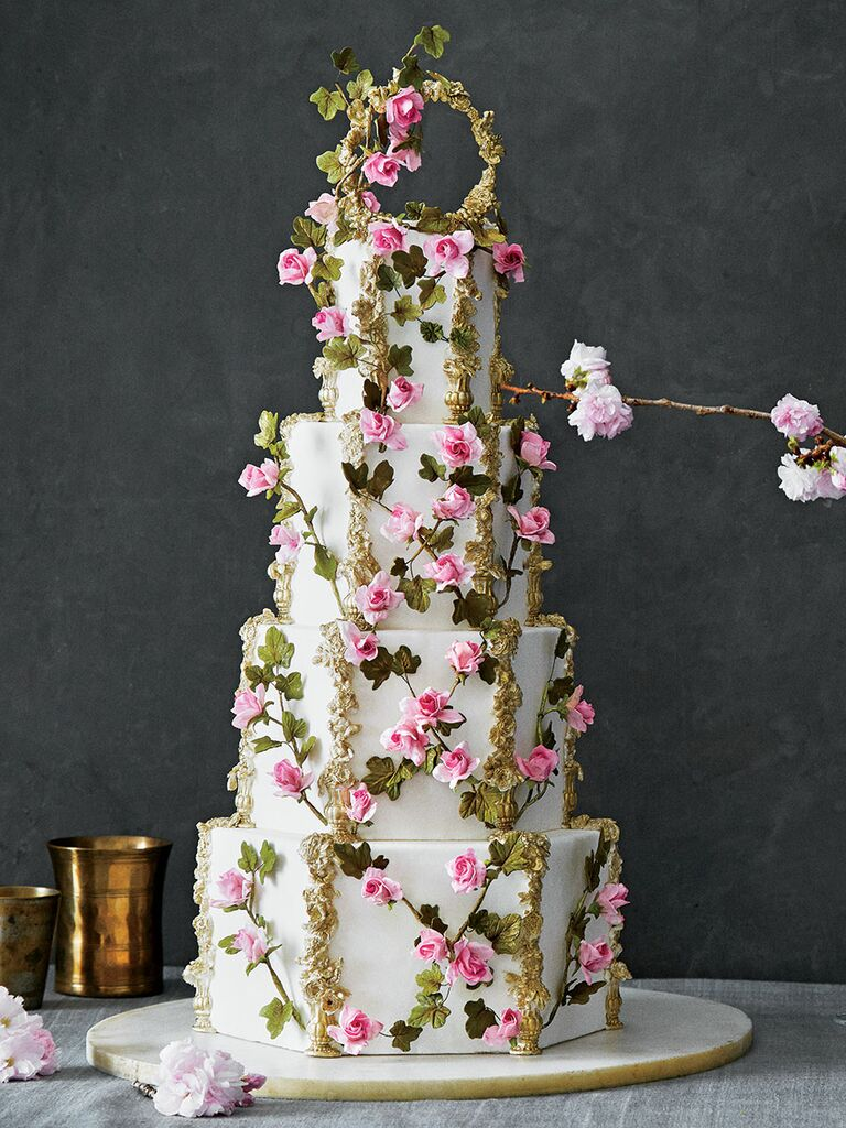 Unique wedding cakes the prettiest wedding cakes weve ever seen elegant garden cake izmirmasajfo