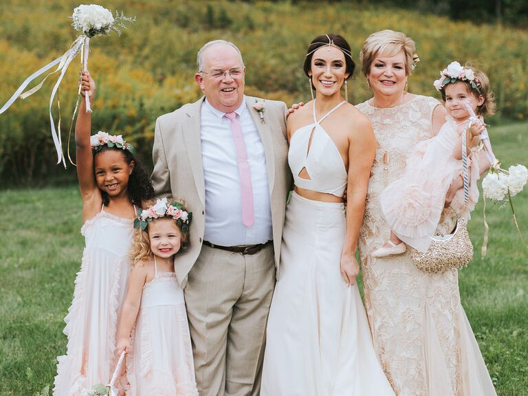 少人数 結婚式 ウエディング 親族のみ 家族のみ 家族写真 親族写真