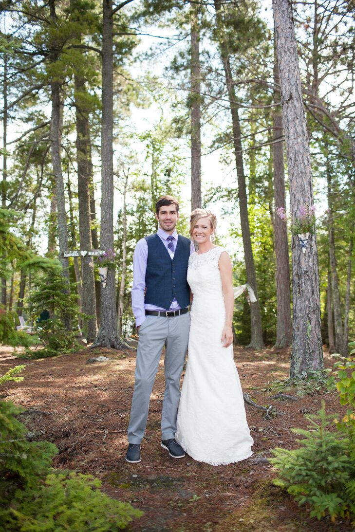 While planning their destination wedding along the shores of Lake Loon in northern Minnesota, to-be-weds Isabelle Bogen (26 and a graduate student) an
