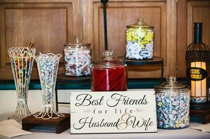Take Home Candy Bar for Guests