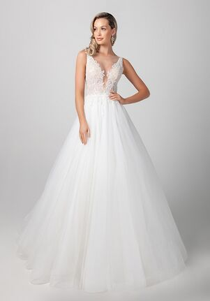 Michelle Roth for Kleinfeld Avon Wedding Dress