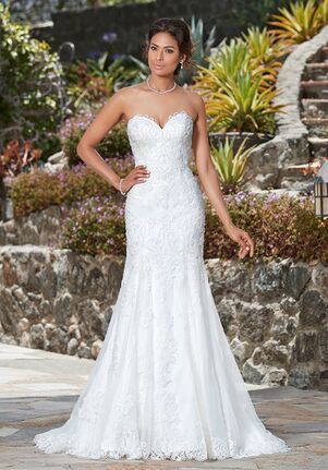 KITTYCHEN Couture CAPRIS, K1743 Sheath Wedding Dress