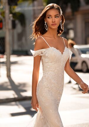 Moonlight Couture H1443 Mermaid Wedding Dress