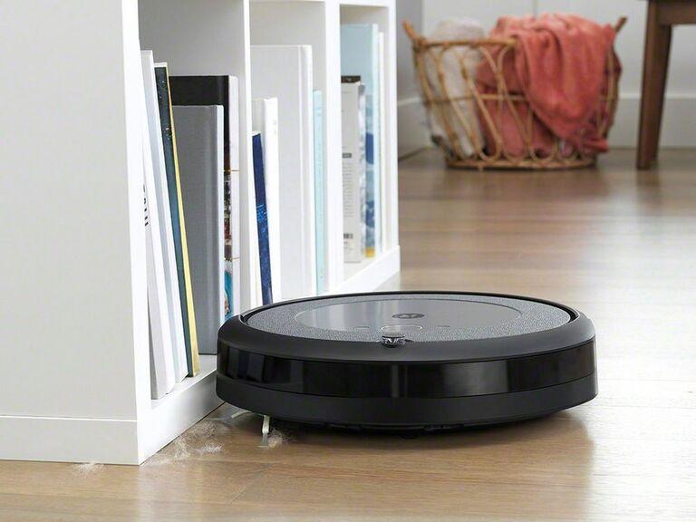 iRobot Roomba vacuum on floor