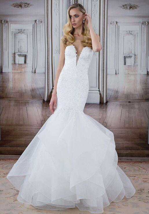 LOVE by Pnina Tornai for Kleinfeld 14482XS Mermaid Wedding Dress