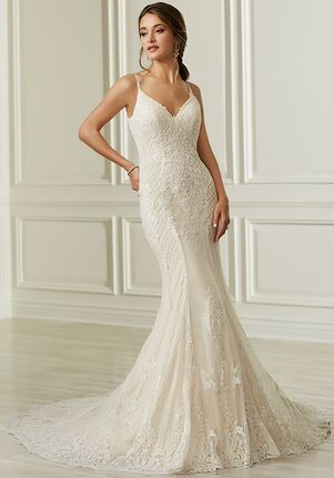 Adrianna Papell Platinum 31108 Mermaid Wedding Dress