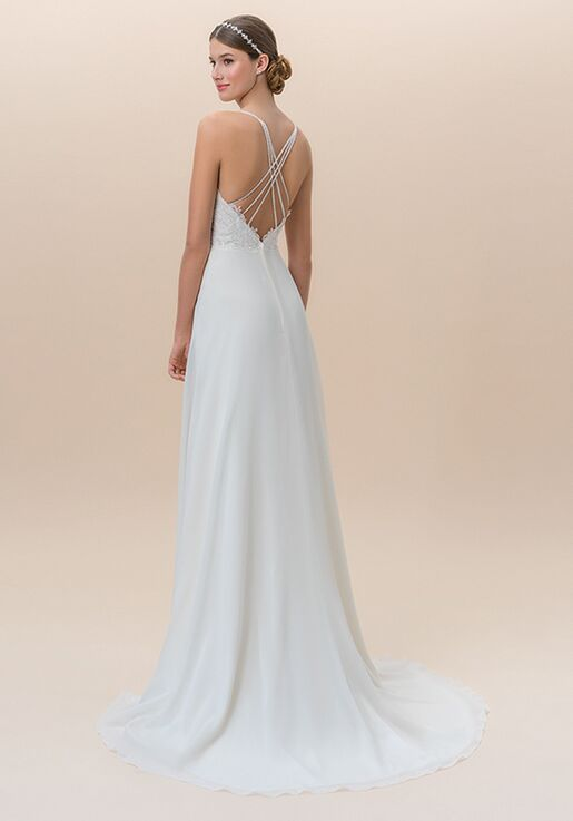 Moonlight Tango T825B A-Line Wedding Dress