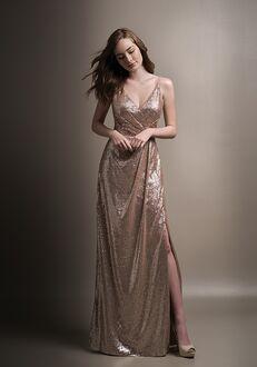 Belsoie Bridesmaids by Jasmine L194008 V-Neck Bridesmaid Dress