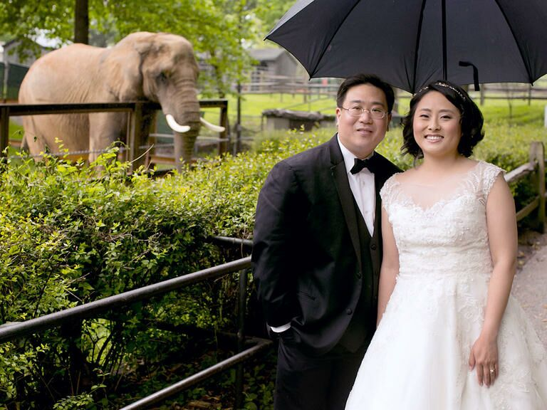 Wedding at the Mansion House at Maryland Zoo