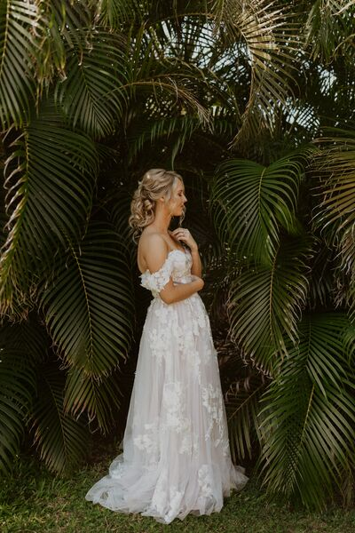 Kauai Wedding Hair and Makeup by Meghan Daul