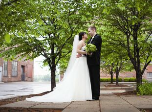 The Bride Kate Nibberich, 25, an office assistant The Groom Kyle Boschert, 25, works in sales The Date April 14  When Kate and Kyle described their da
