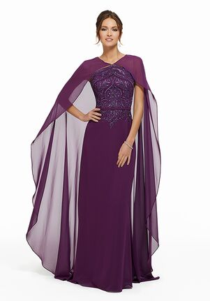 MGNY 72001 Gray,Purple Mother Of The Bride Dress