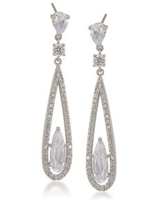 Carolee Jewelry  6185EP4123 Wedding Earring photo