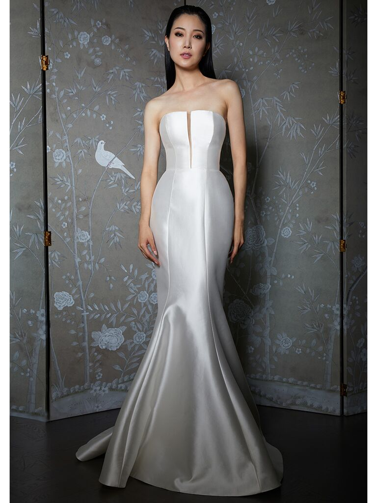 Legends by Romona Keveza wedding dress strapless trumpet
