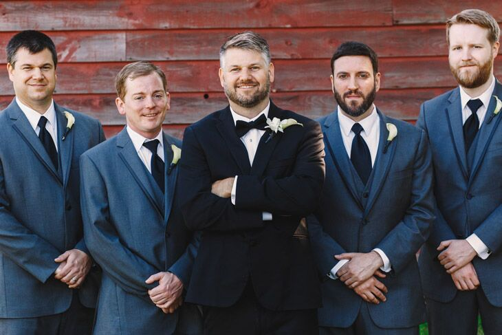 Tuxedo vs suit for weddings
