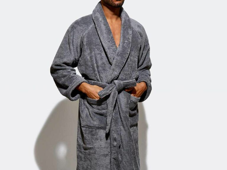 snow robe cozy gift for husband