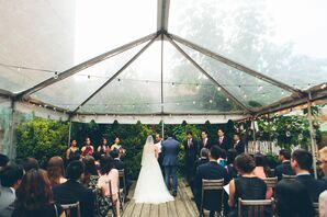 MyMoon Tented Patio Ceremony