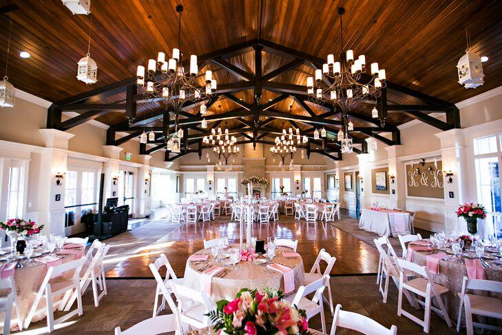 Romantic Florida Country Club Reception Decor