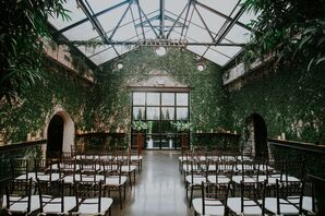 Intimate Rustic Ceremony at The Foundry