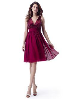 Venus Bridesmaids BM2250 V-Neck Bridesmaid Dress