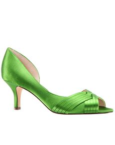 Nina Bridal Contesa_Apple Green-Satin Shoe