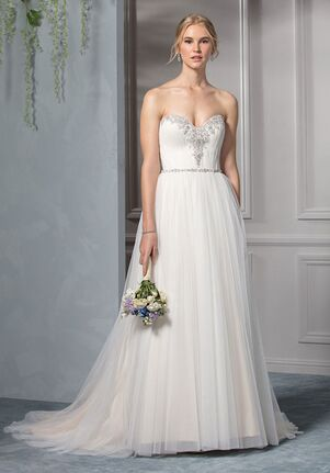 Beloved by Casablanca Bridal BL238 Sky A-Line Wedding Dress