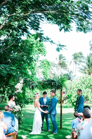 A Family-Officiated Wedding Ceremony