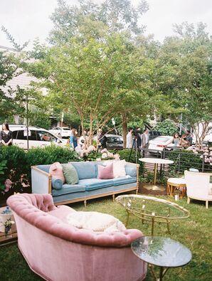 Velvet Lounge Furniture at Minimony in Washington, D.C.