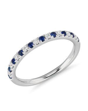 Blue Nile 21209 White Gold Wedding Ring