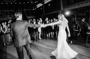First Dance at Timber Cove Resort in Jenner, California
