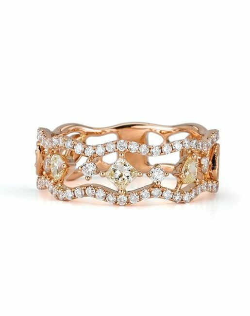 Parade Designs BD2276 from the Reverie Collection Wedding Rings photo