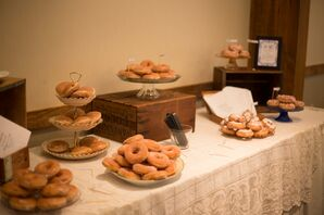 Vintage-Accented Krispy Kreme Doughnut Bar