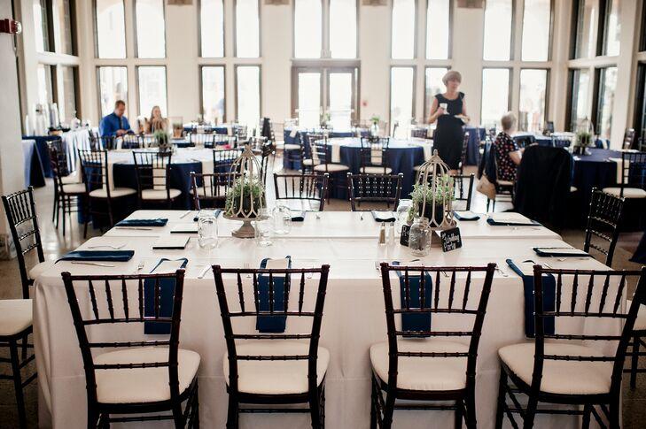 A Summer Navy Wedding At Belle Isle Casino In Detroit Michigan