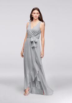 David's Bridal Collection David's Bridal Style F19748 V-Neck Bridesmaid Dress