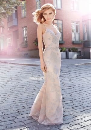 Hayley Paige Occasions 5717 V-Neck Bridesmaid Dress