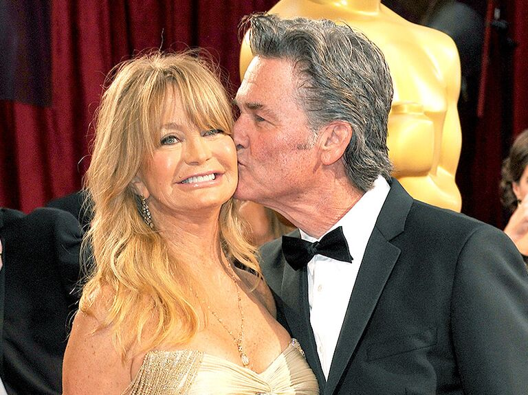 Goldie Hawn and Kurt Russell famous celebrity couples
