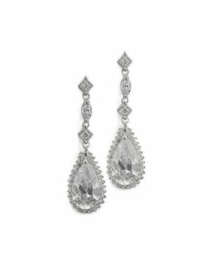 Anna Bellagio LETICIA CUBIC ZIRCONIA EARRINGS Wedding Earring photo