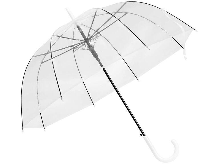 Clear umbrella for guests