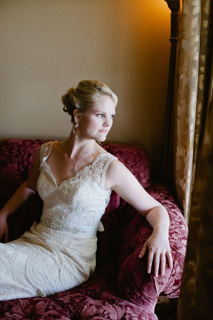 Alexia Gavela Lace Bridal Gown
