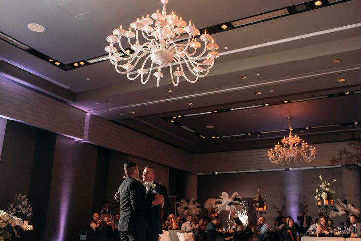 First Dance in the Ballroom of the W Austin Hotel in Texas