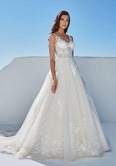 Justin Alexander Breena A-Line Wedding Dress